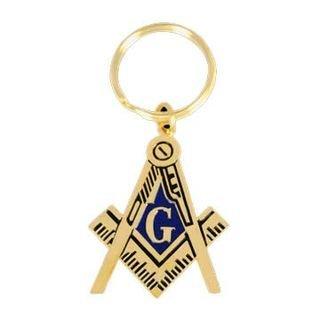 Mason Shield Key Chain