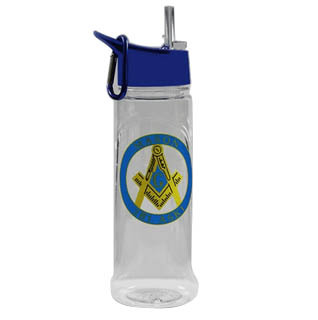 Mason Water Bottle W/Carabiner Hook