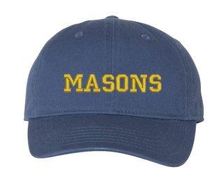 Masonic Comfort Colors Pigment Dyed Baseball Cap
