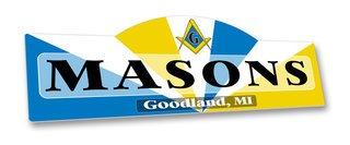 Mason / Freemason Display Sign