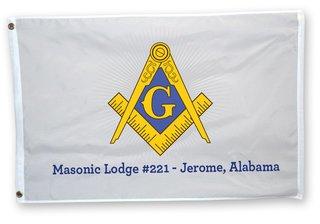 Mason / Freemason Flag