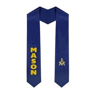 Masonic Graduation Sash Stole