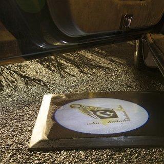 Masonic LED Car Door Light Set