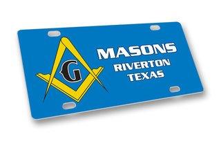 Mason / Freemason License Cover