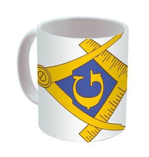 Masonic Mega Crest - Shield Coffee Mug