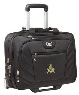 DISCOUNT-Masonic Ogio Lucin Wheeled Briefcase