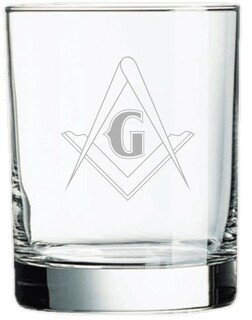 Mason / Freemason Old Style Glass