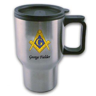 Mason / Freemason Travel Mug