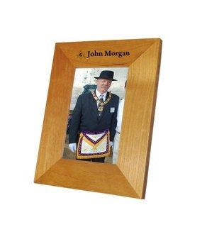 Mason / Freemason Wood Picture Frame
