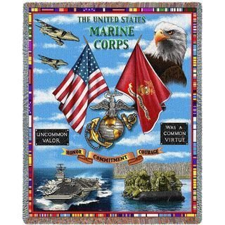 Military Afghan Blankets & Throws