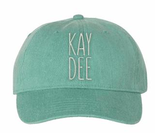 MOD Nickname Sorority Comfort Colors Pigment Dyed Baseball Cap