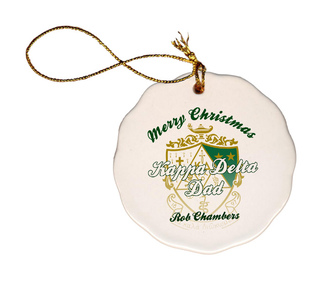 Mom Or Dad Holiday Ball Ornament