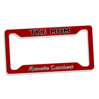 Mom Or Dad Custom License Plate Frame