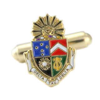 New Fraternity Crest - Shield Cuff links