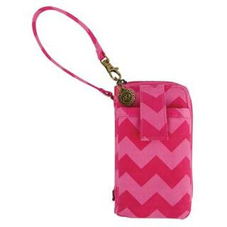 New Sorority Chevron Wristlet Case