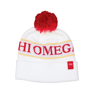 New Sorority Pom Beanie