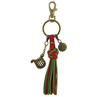 Sorority Tassel Key Fob