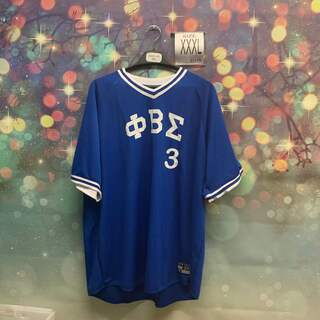 New Super Savings - Phi Beta Sigma Jersey - BLUE in size XXXL