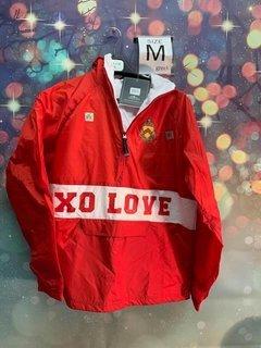 New Super Savings - Phi Kappa Tau Charles River Custom Stripe Greek Pullover Anorak - RED