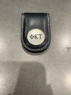 New Super Savings - Phi Kappa Tau Money Clip - BLACK