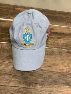 New Super Savings - Sigma Chi Crest - Shield Hat - BLUE