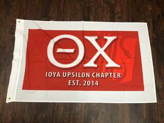 New Super Savings - Theta Chi 3 X 5 Flag - RED