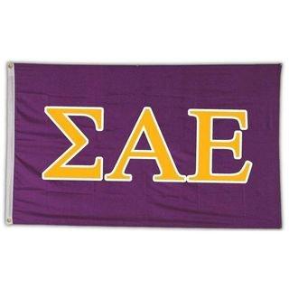 Sigma Alpha Epsilon Letter Flag