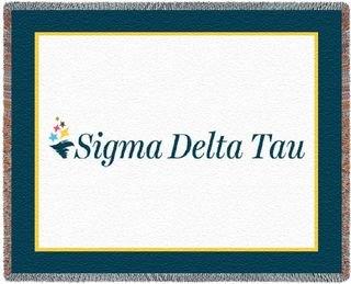 Sigma Delta Tau Blanket Throw