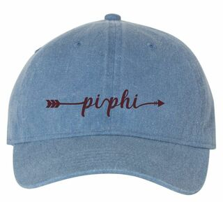 Pi Phi Comfort Colors Arrow Hat