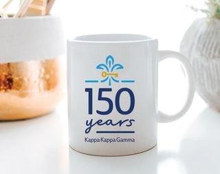 Kappa Kappa Gamma 150 Years Coffee Mug