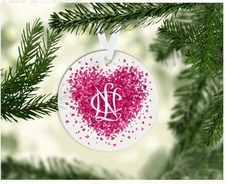 National Charity League Conference Heart Ornament