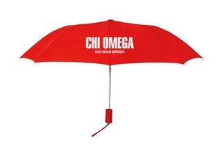 Chi Omega Umbrella