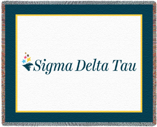 Sigma Delta Tau Blanket Throw