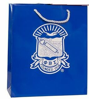 Phi beta Sigma Paper Gift Bag
