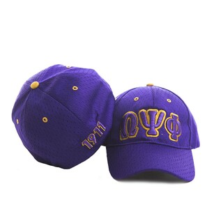 Omega Psi Phi Embroidered Flexfit Cap