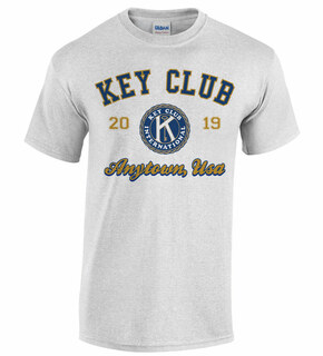 Key Club Anytown Tee