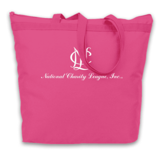 National Charity League Logo Tote