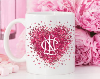 National Charity League Conference Heart Mug