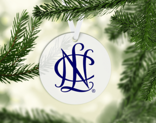 National Charity League Blue Icon Ornament