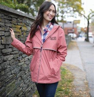 Alpha Omicron Pi Carson New Englander Rain Jacket