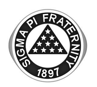 Sigma Pi Crest Silver Ring