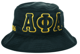 Alpha Phi Alpha Embroidered Bucket Hat