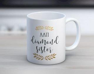 ADPi Diamond Sister Mug