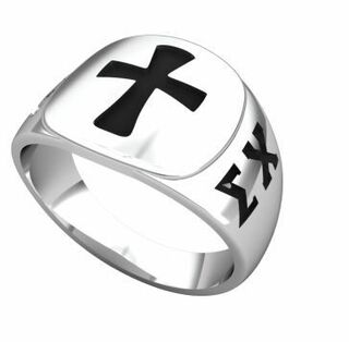 Sigma Chi Brotherhood Ring (R002)