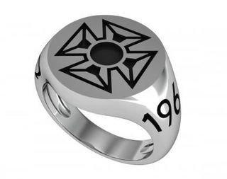 Alpha Tau Omega Crest Ring