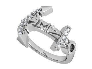 Alpha Sigma Tau Anchor Ring