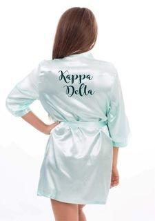 Kappa Delta Satin Robe - Limited Quantity