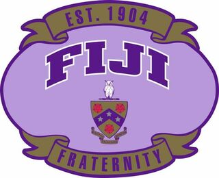 FIJI Banner Crest - Shield Decal