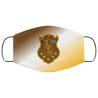 Super Crest Fraternity Face Mask