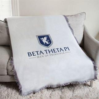 Beta Theta Pi Men Of Principle Afghan Blanket Throw